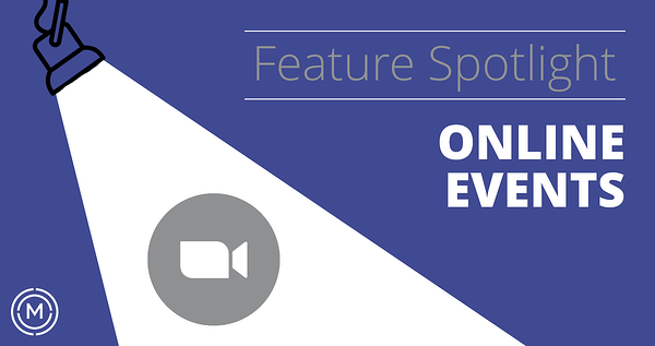 Feature Spotlight Key Image - Online Events